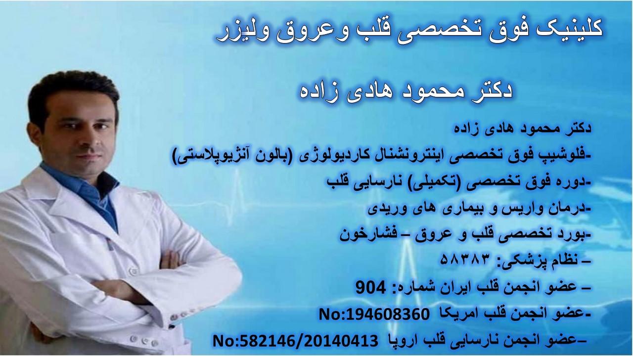 دکتر محمود هادی زاده
